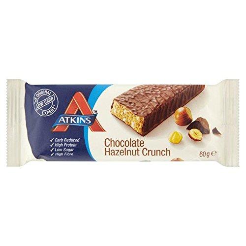 Atkins Advantage Chocolate Hazelnut Crunch Bar 60g
