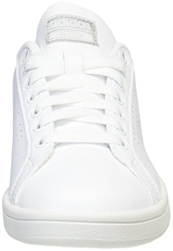 Women's Low Cloudfoam adidas Sneakers Advantage White Plamet Ftwbla Ftwbla Top x6pxwEWn