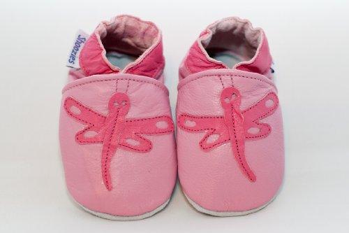 Shoozies - Zapatos primeros pasos para niño rosa