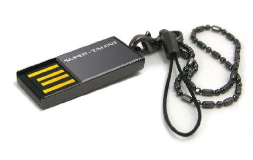 Super Talent Pico-C Nickel 16 GB USB 2.0 Flash Drive STU16GPCN