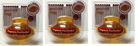 Popcorn Football Shaper ~ Make Popcorn Footballs Rice Krispie Treats & More! (3 Football Molds)