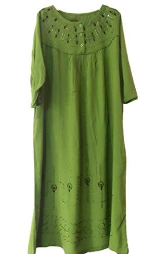 Soojun Womens Cotton Loungewear Embroidery