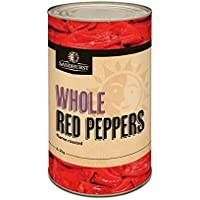 Peppers RED Roasted Whole 4KG