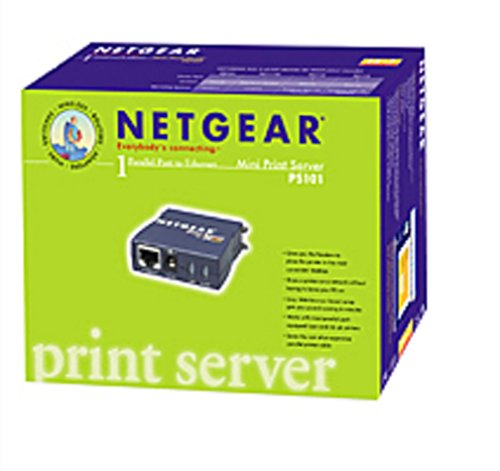 NETGEAR PS101 Mini Print Server by NETGEAR
