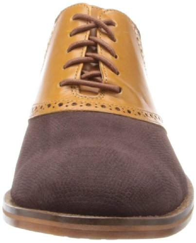 Cole Haan Hombres Colton Saddle Oxford Coffee / Woodbury