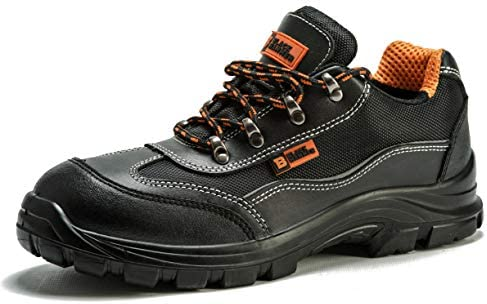 Details about New Mens Safety Ankle Boots Trainers Steel Toe Cap Hiker Work Shoes Size 6 12 UK