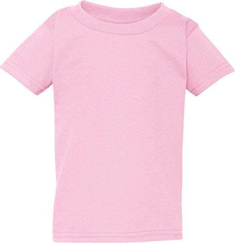 Gildan Heavy Cotton Toddler T-Shirt, LIGHT PINK, 5T