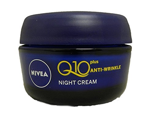 Night Cream :Nivea Visage Anti-Wrinkle Q10 Plus Moiturize...