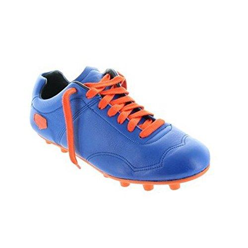 Milemil - Botas de Fútbol Hombre Azul