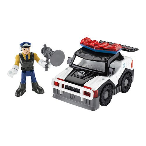 Fisher Price Rescue Heroes - Sergeant Siren & Police Car