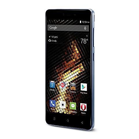 BLU Energy X 2 - With 4000 mAh Super Battery - Global GSM Unlocked Smartphone - Black (Unlock Dual Sim Phone)