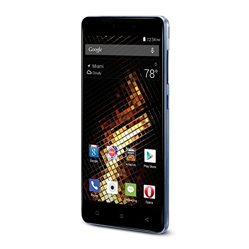 BLU Energy X 2 - With 4000 mAh Super Battery - Global GSM Unlocked Smartphone - Black