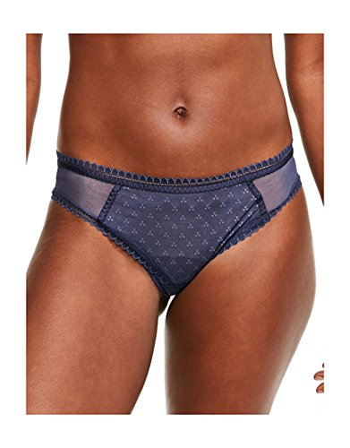 Chantelle Womens Courcelles Sexy Brief Size XSmall in Navy Blue