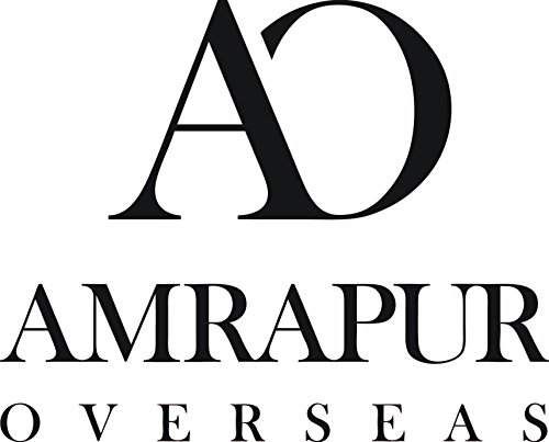 - Amrapur Overseas | Artesia Damask 6 Piece Reversible Yarn Dyed Jacquard Towel Set (Platinum)