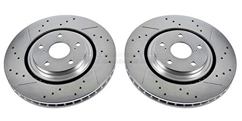 Power Stop JBR1310XPR Front Evolution Drilled & Slotted Rotor ()