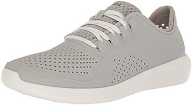 Crocs Men's LiteRide Pacer, Pearl White/White, 8 M US
