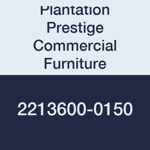 Plantation Prestige Commercial Furniture 2213600-0150  Round Solid Table Top, Steel Material Type, 36'', Charcoal by Plantation Prestige Commercial Furniture