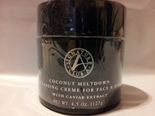 signature Club A by Adrienne Coconut Meltdown Cleansing Creme for Face and Eyes - Coconut Club