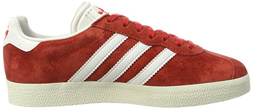 Gold Red Adulte Baskets 48 Rouge Basses White Mixte Super adidas Metallic Vintage EU Gazelle a0XRqv