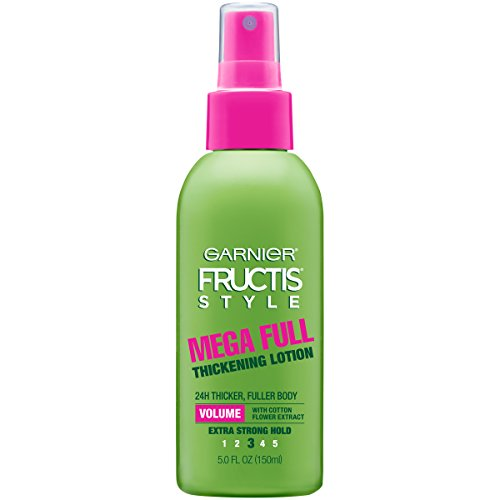 Bottle Style Lotion - Garnier Fructis Style Mega Full Thickening Lotion for All Hair Types, 5 Ounce (Packaging May Vary)