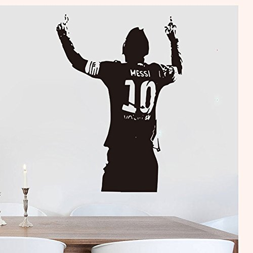 Messi Football Barcelona Soccer Wall Decals vinyl decor stickers
