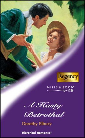 book cover of A Hasty Betrothal
