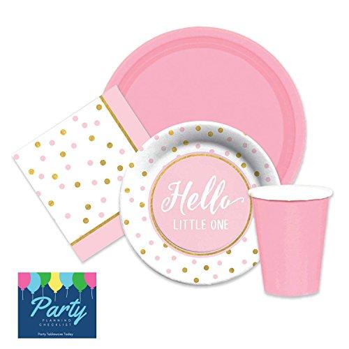 Elegant Shower Supplies dessert napkins product image