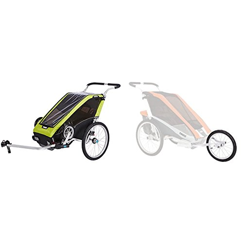 Thule Chariot Cheetah XT w/ Jogging Kit by Thule