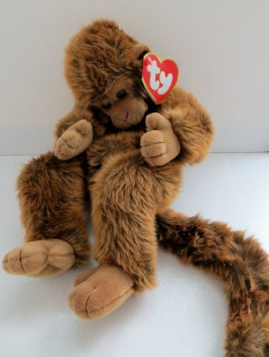 - Mischief the Monkey, Ty Classic Plush Retired, Designed By Sally Winey