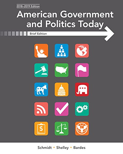 American Government and Politics Today, Brief (MindTap for Communication Studies)