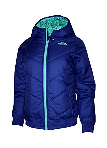 The North Face Youth Girls Nika Reversible Insulated Jacket Lapis Blue (M10/12) by The North Face