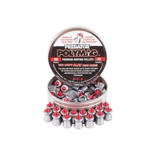Predator Polymag, .35 Cal, 81.01 Grains, Pointed, 50ct