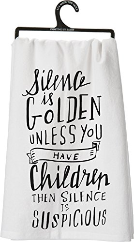 SILENCE GOLDEN CHILDREN SUSPICIOUS Whimsical product image