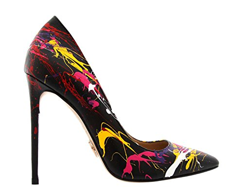 Rezalution by Janiko Color Instinct XBR009 Femmes High-Heels Noir/Multicolore