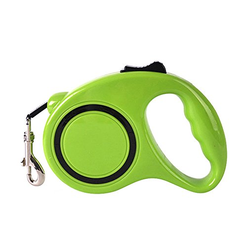 mk. park - 10ft/3M Automatic Retractable Pet Dog/Cat Puppy Traction Rope Walking Lead Leash (Green)