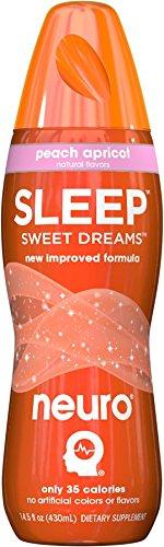 Neuro SLEEP Peach Apricot, 14.5 oz Bottles (Pack of 12) by Neuro