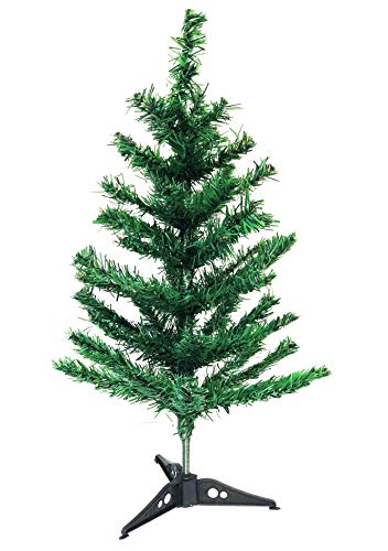 Christmas Elegance 2 Ft Mini Christmas Pine Tree with Tree Stand