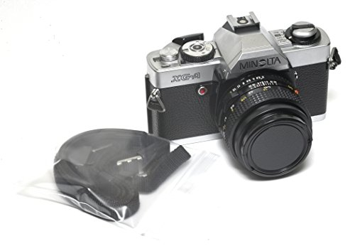 Minolta XG-A 35mm Camera w/50mm f/2 MD Lens & Strap