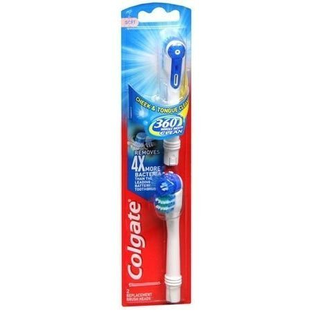 Colgate Whole Mouth Clean Full Head Soft Toothbrush Refill - 2 ct
