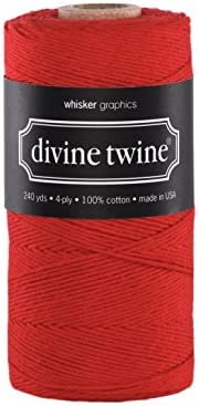 240 Yards Silver Baker/'s Twine Divine 720 Feet