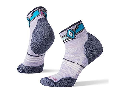 Light Mini Outdoor Socks (Smartwool Women's PhD Outdoor Light Pattern Mini Purple Mist Medium)