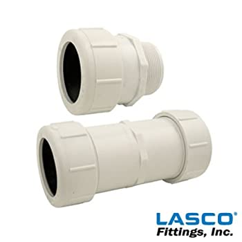 "1-1/4"" PVC Compression Male Adapter"