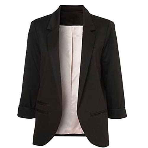 Wholesale FACE N FACE Women's Cotton Rolled Up Sleeve No-Buckle Blazer Jacket Suits