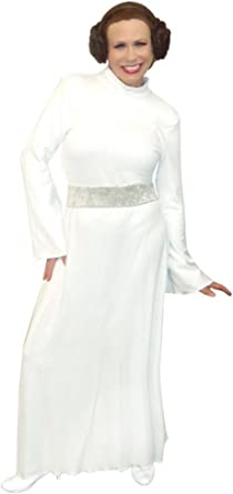 Amazon Com Princess Leia Star Wars Dress Only Plus Size Supersize