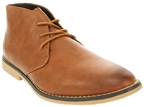 London Fog Mens Broadstreet Chukka Boot Tan 11 M US