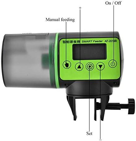Alimentador automático de peces acuario dispensador de alimentos acuario casero 9