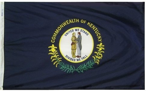Cheap 3×5′ Kentucky Heavy Weight Nylon Flag From All Star Flags