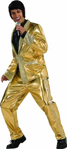 Elvis Now Grand Heritage Collection Deluxe Gold Lame Costume