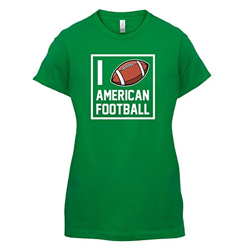 I Heart American Football - Femme T-Shirt - Vert - XL