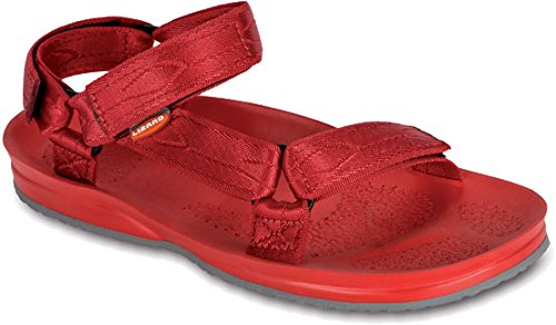 Lizard Sail logo red/red